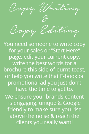 Copy Writing and Copy Editing Agency - Vancouver, BC | Peppercorn Creative