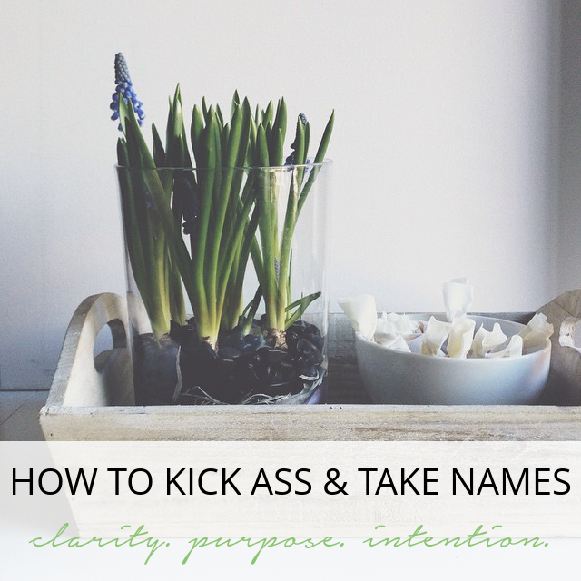 How to Kick Ass this year - Anti- New Years Resolutions - Peppercorn Creative