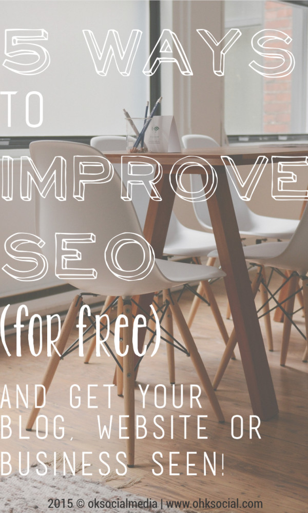 Improve SEO - ohksocial.com