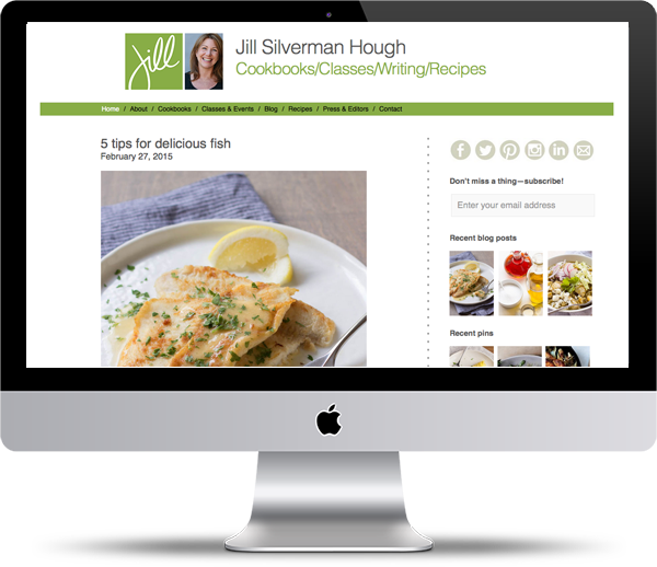 Jill Silverman Hough Mockup - Website Design Portfolio - Peppercorn Creative