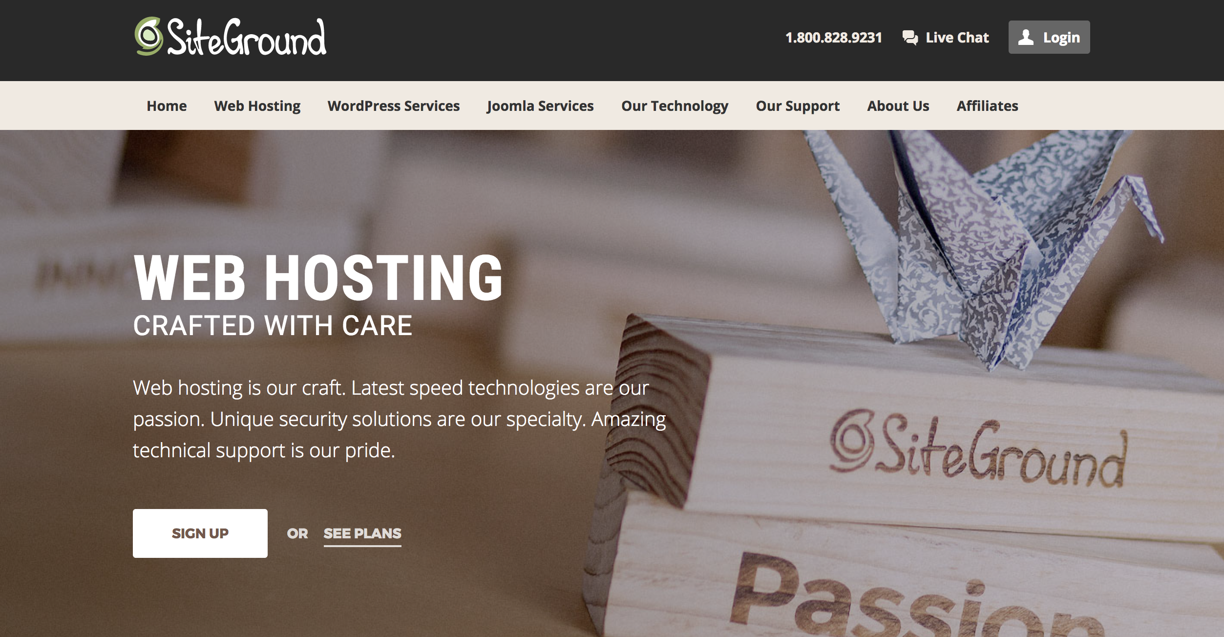 Website Hosting SIteground - How to set up a blog for free