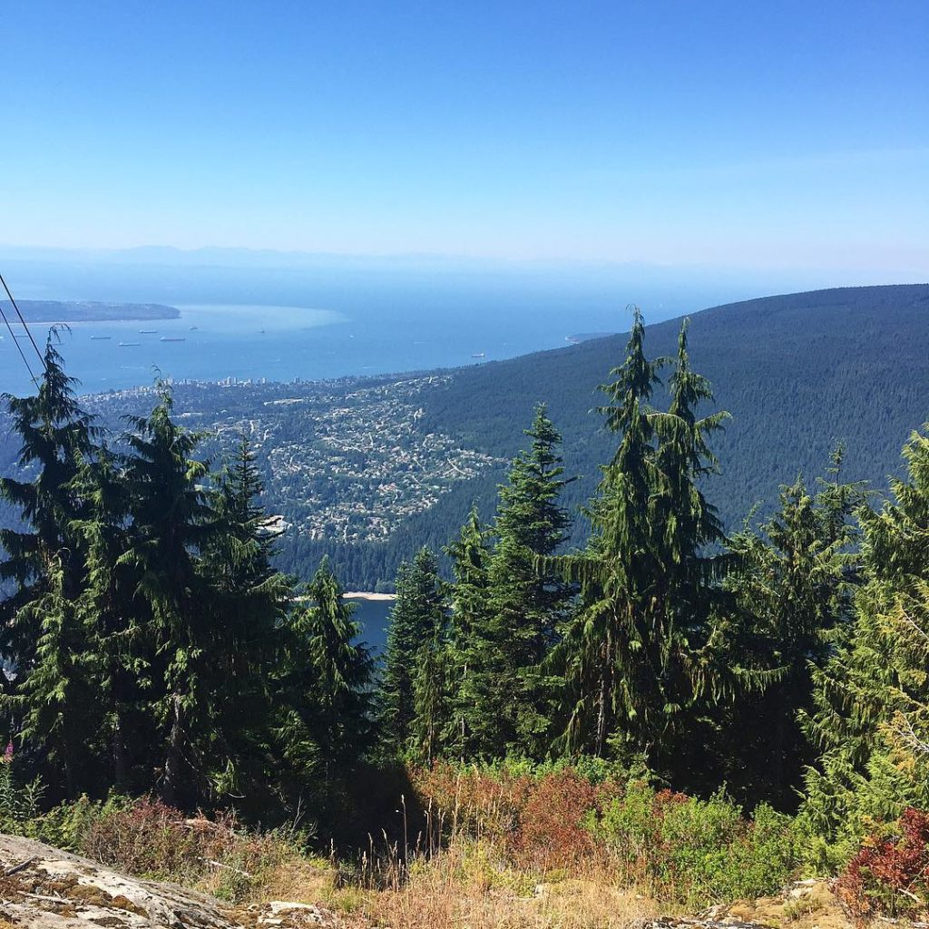 Grouse Grind View - Peppercorn Creative | Vancouver BC Design Agency