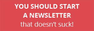 How To Start A Newsletter - Peppercorn Creative